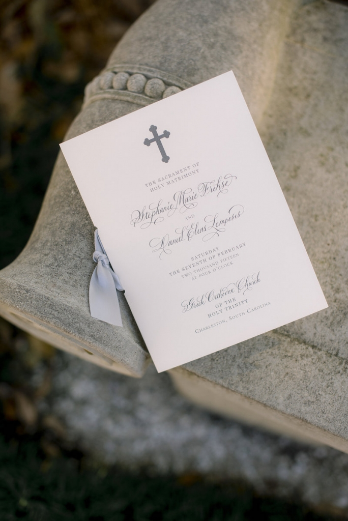 Stationery by Studio R Designs. Image by Timwill Photography.