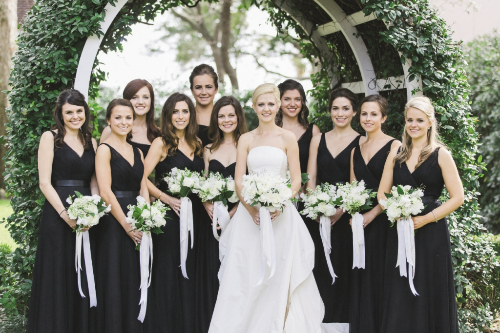 """Our flowers were so simple and white,"" says Laura, who loved pairing 