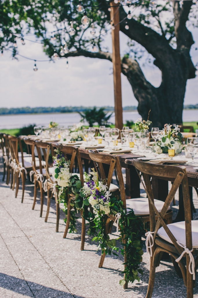 Photograph by Hyer Images. Rentals by Snyder Event Rentals. Florals by Loluma.