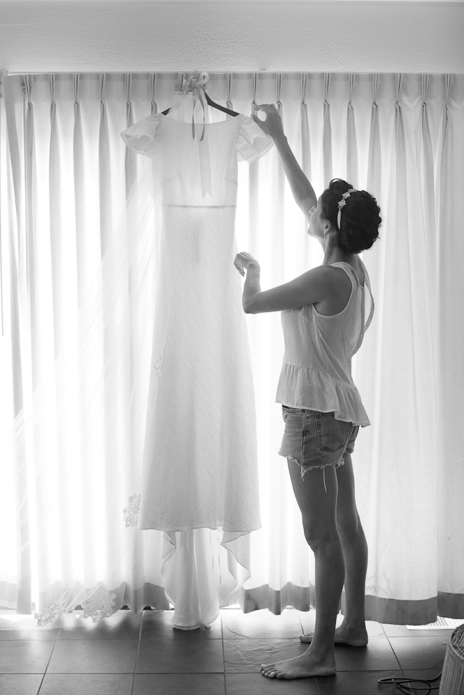 Bride's gown by Delphine Manivet. Photograph by Captured by Kate.