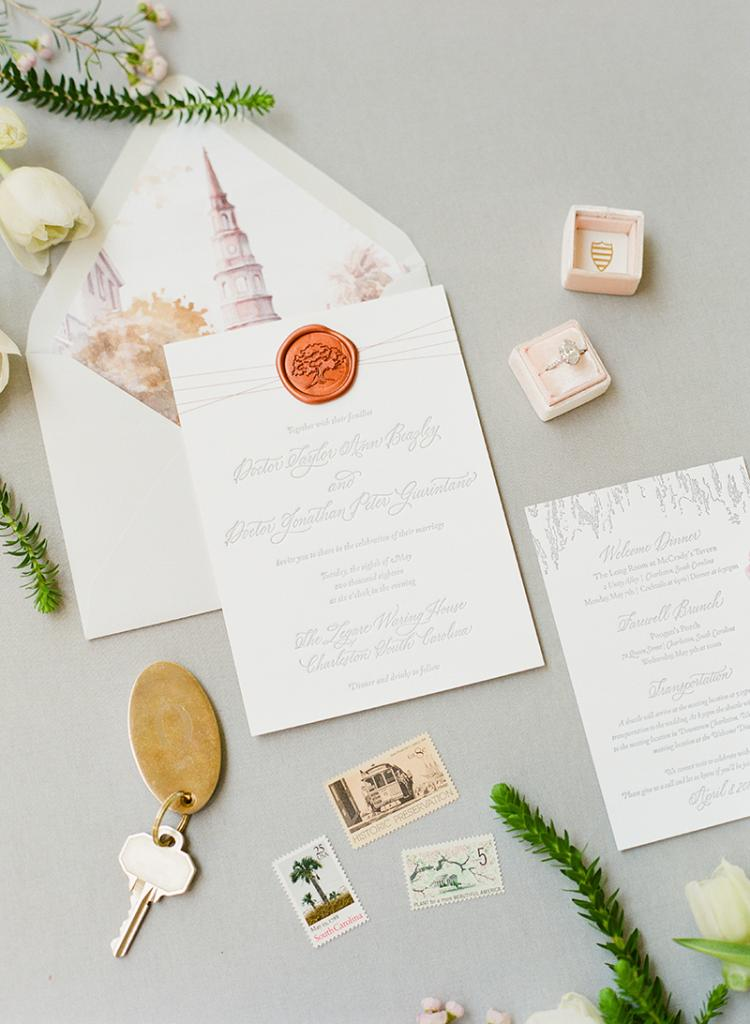 When planning an intimate wedding, gently explainto loved ones (invited and not) that only immediate family will be attending.