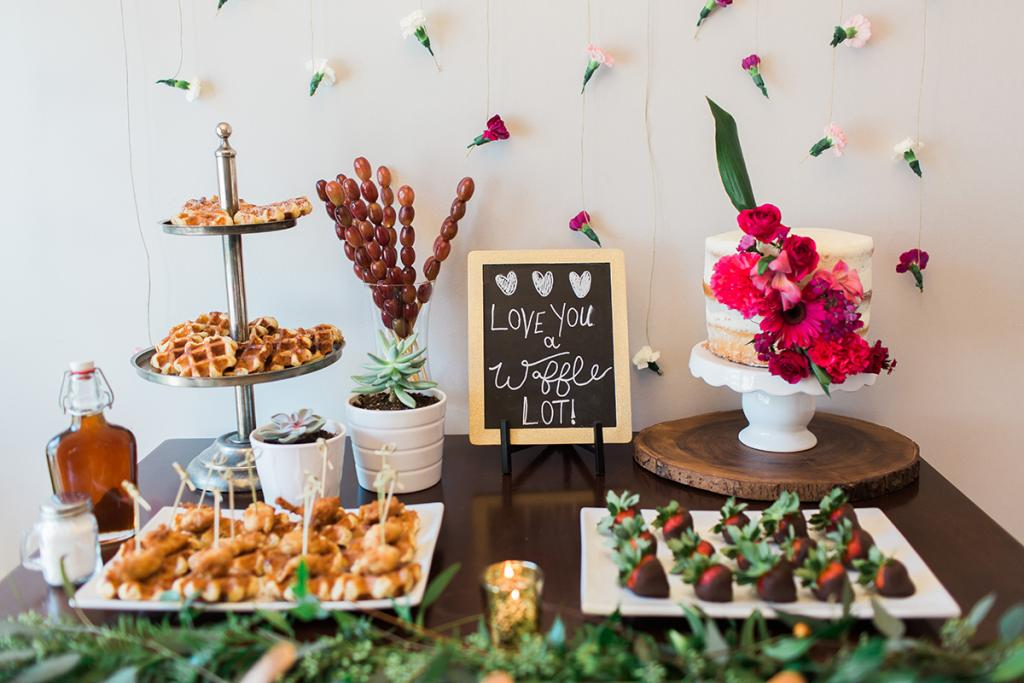 The Price is Right - The 10-person brunch cost $1,000 ($500 for Fetes de  Fleurs and $500 for food, décor, and invitations). The  hostess kept costs down with buys from discount and hobby shops.