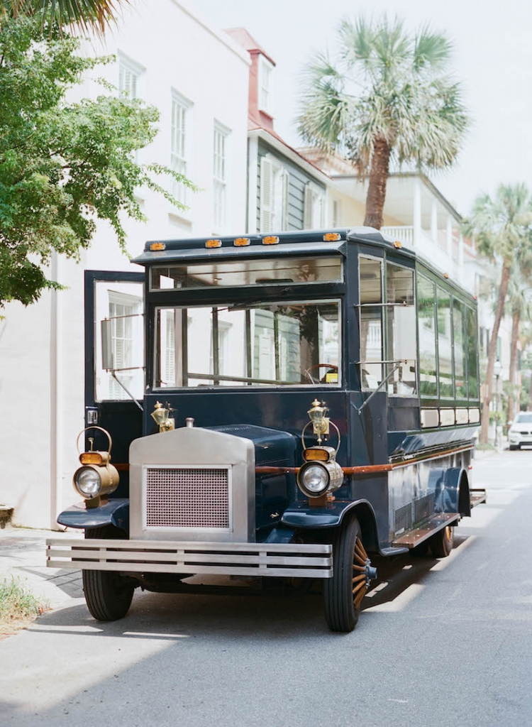 Transportation by Absolutely Charleston. Photograph by Elizabeth Messina.