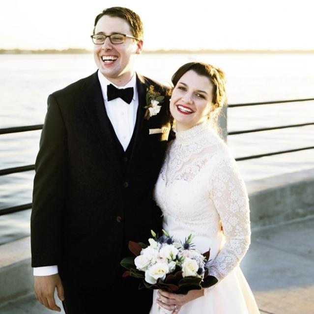11. Bride Lauren Adams. Image at the Battery by Olivia Rae James.