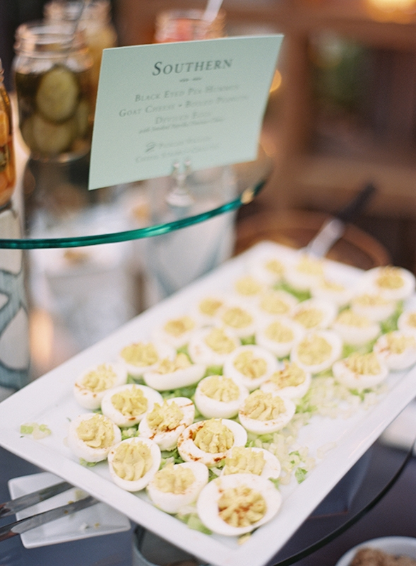 Catering by Patrick Properties Hospitality Group. Image by Virgil Bunao Photography at Lowndes Grove Plantation.