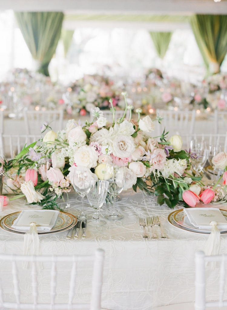 Photograph by Corbin Gurkin. Florals by Blossoms Events. Tabletop by DC Rentals.