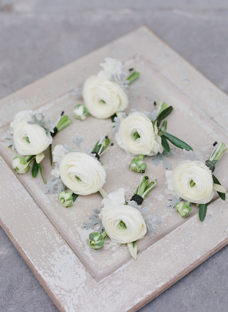 Photograph by Corbin Gurkin. Boutonieres by Blossoms Events.