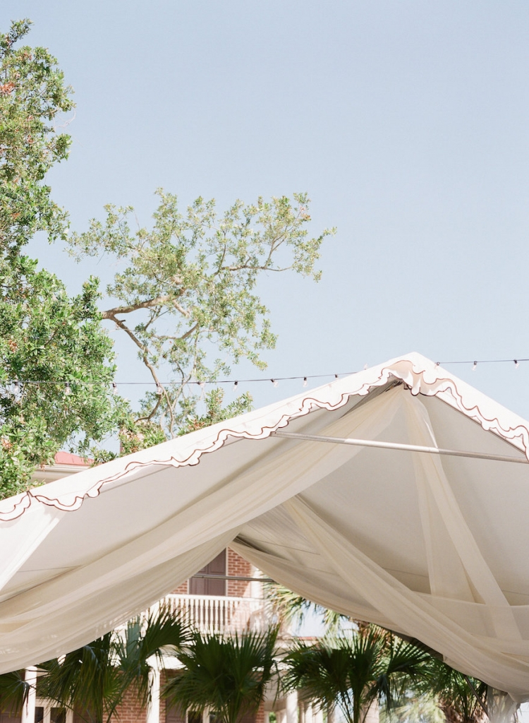 Tent by Snyder Events. Photograph by Corbin Gurkin.