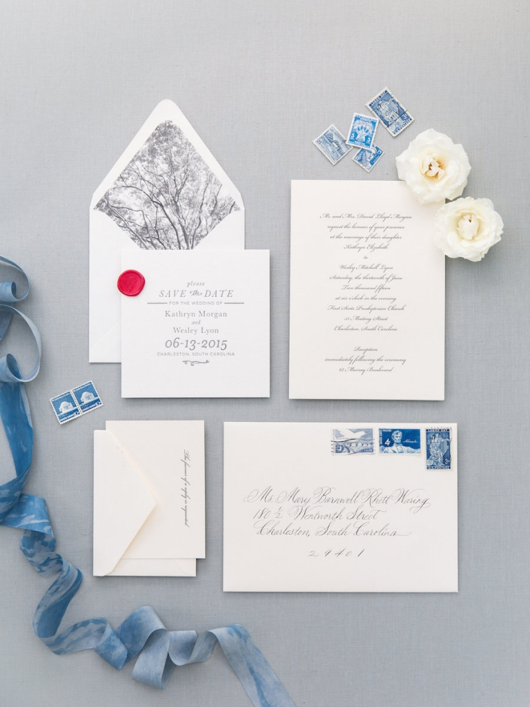 Stationery by Lettered Olive. Photograph by Corbin Gurkin.