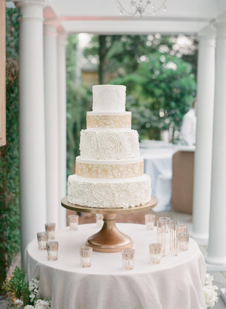 Photograph by Corbin Gurkin. Cake by Wedding Cakes by Jim Smeal.