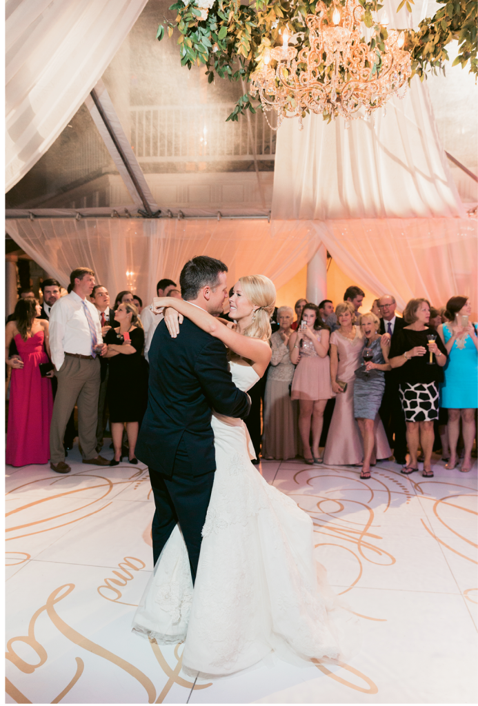 Photograph by Corbin Gurkin at the William Aiken House. Tent by Snyder Event Rentals. Lighting by Production Design Associates.
