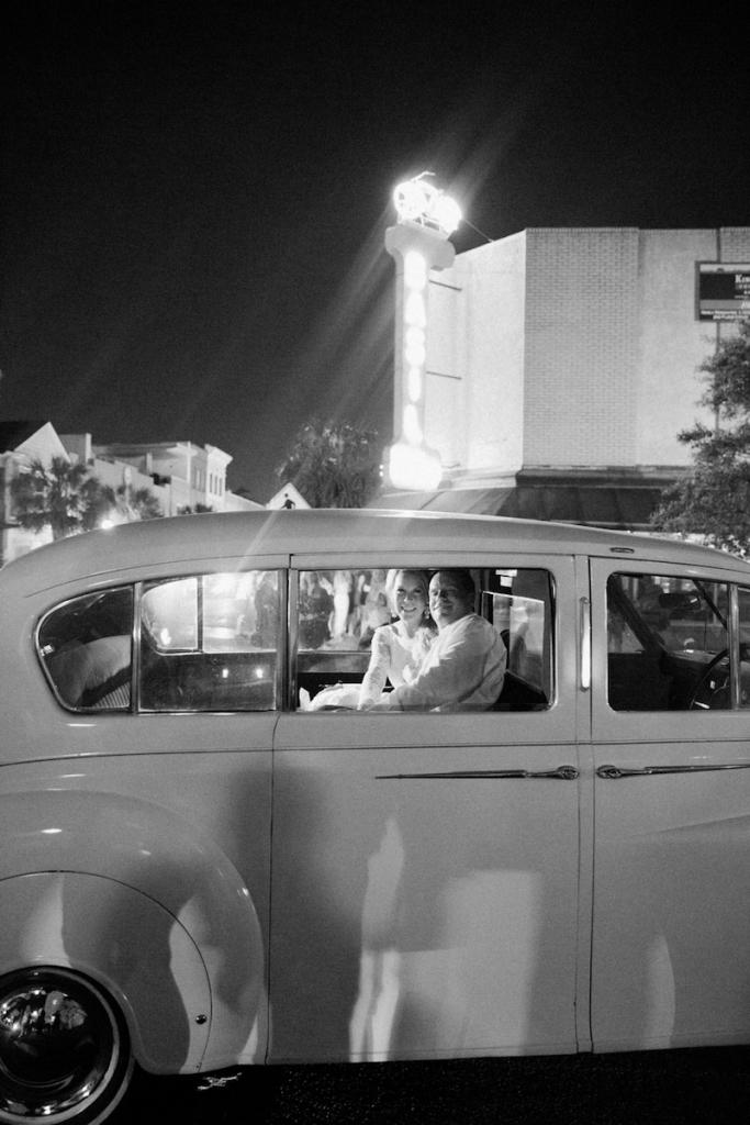Photograph by Corbin Gurkin. Getaway car by ACW Limo.