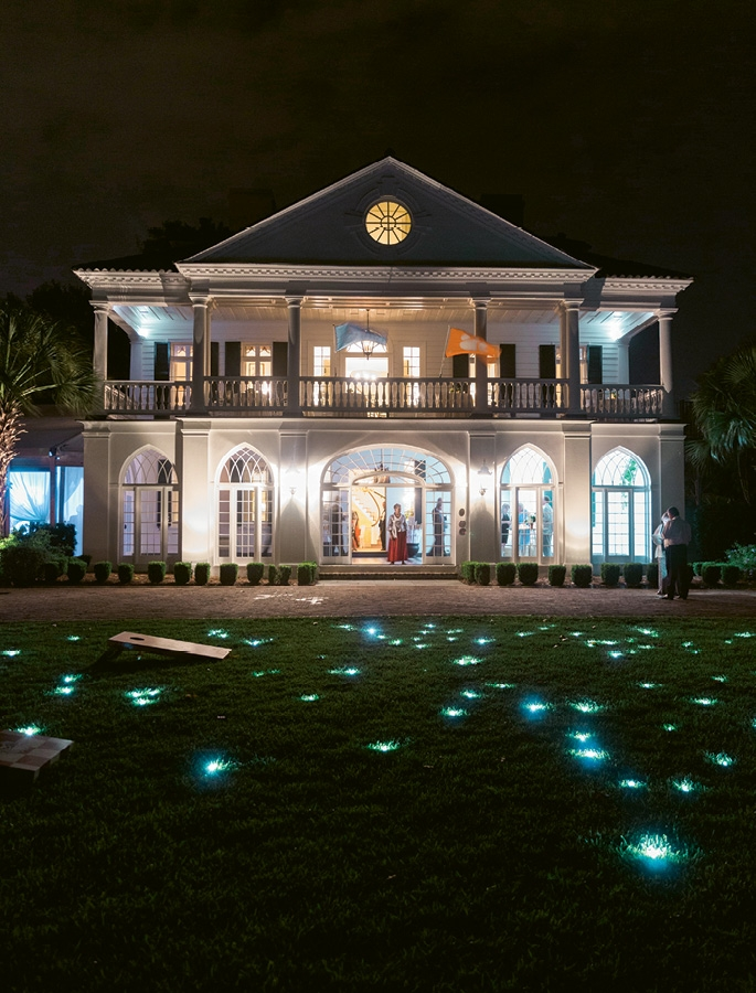 Night Light - Fairy Berries®  illuminated the lawn —and doubled as informal party favors.
