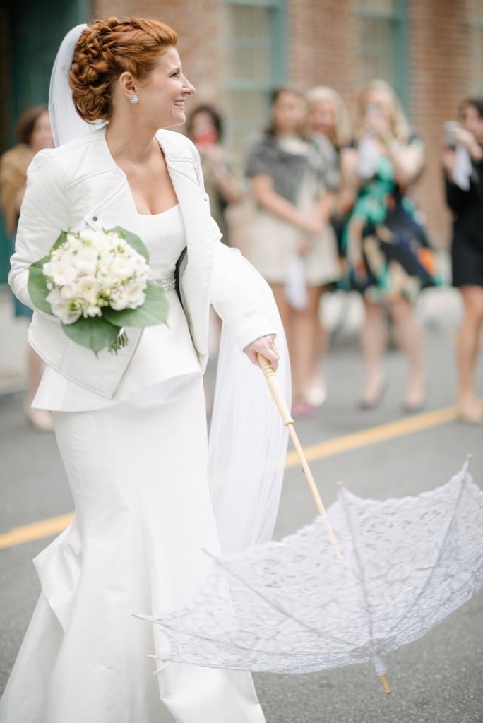 2. Bride Caroline Cuttino. Image at the French Huguenot Church by Sean Money + Elizabeth Fay.