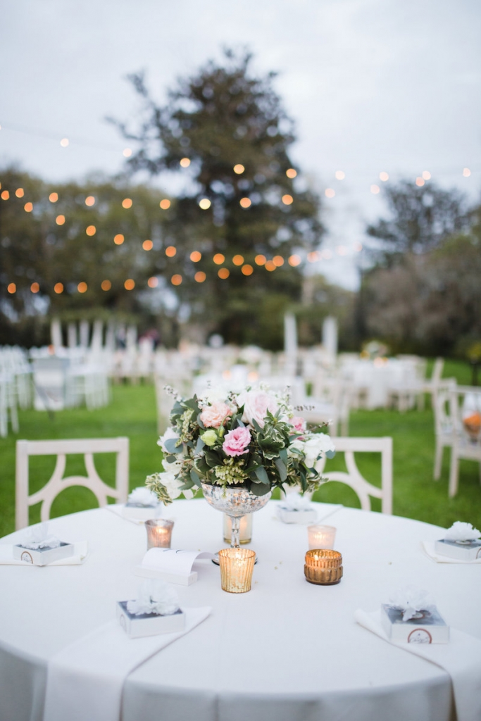 Wedding design by Ooh! Events. Florals by Out of the Garden. Linens by Connie Duglin Specialty Linen. Image by Clay Austin Photography at Magnolia Plantation & Gardens.