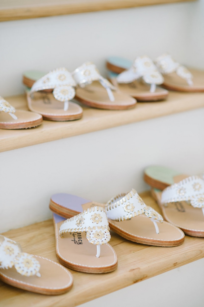 Sandals by Palm Beach Sandals from Bob Ellis. Image by Aaron and Jillian Photography.