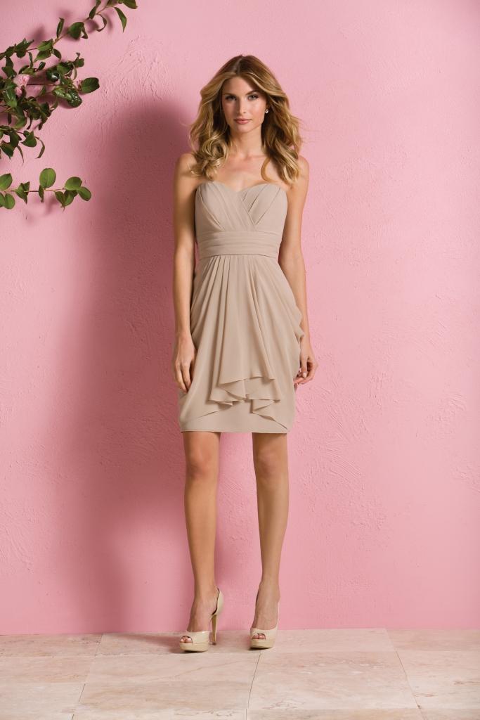 ROMANTIC: B2 Jasmine's Style B173063, available through Bridal House of Charleston