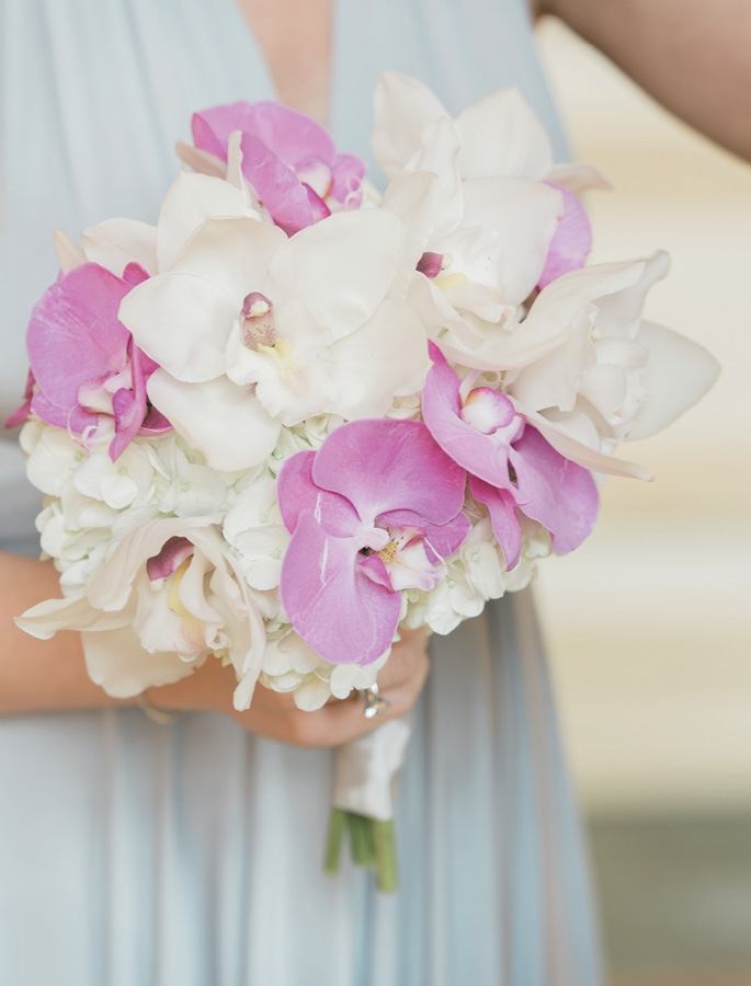 Power Players - For stunning bouquets, opt for florals that  pack a textural punch, like orchids.  <i>Photograph by Virgil Bunao</i>