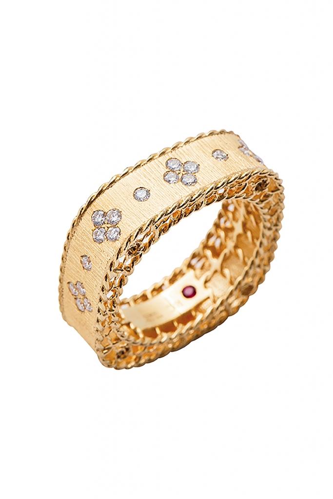 Princess Collection diamond ring from Roberto Coin