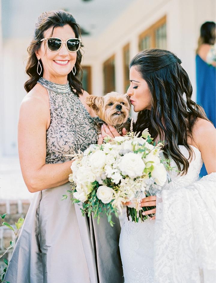 "Since the wedding, the couple's fur baby, Jaxson, has become big brother to Carla and Brandon's ""honeymoon baby,"" Peyton James Cox, born January 4, 2018."