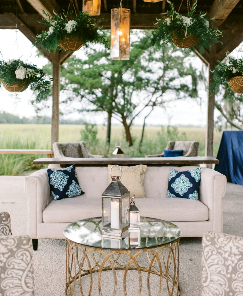 The Cotton Dock's back deck allows you to create an open-air lounge. (Photograph by Sean Money + Elizabeth Fay)