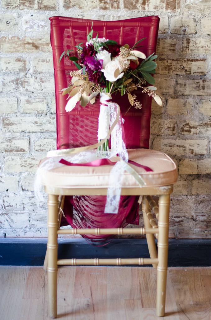 Florals by Larger Than Life Events. Chair from EventWorks. Image by Aneris Photography.