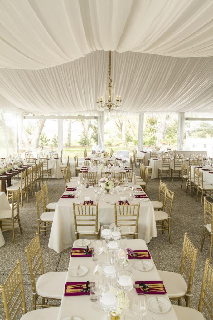 Wedding design by The Burlap Elephant. Rentals by Snyder Events and Ooh! Events. Photograph by Ellis Photo Studio.
