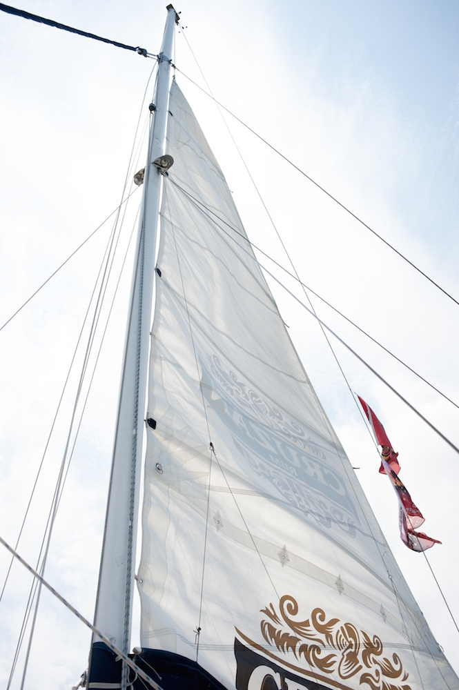 Image by Leigh Webber Photography aboard the Palmetto Breeze catamaran.