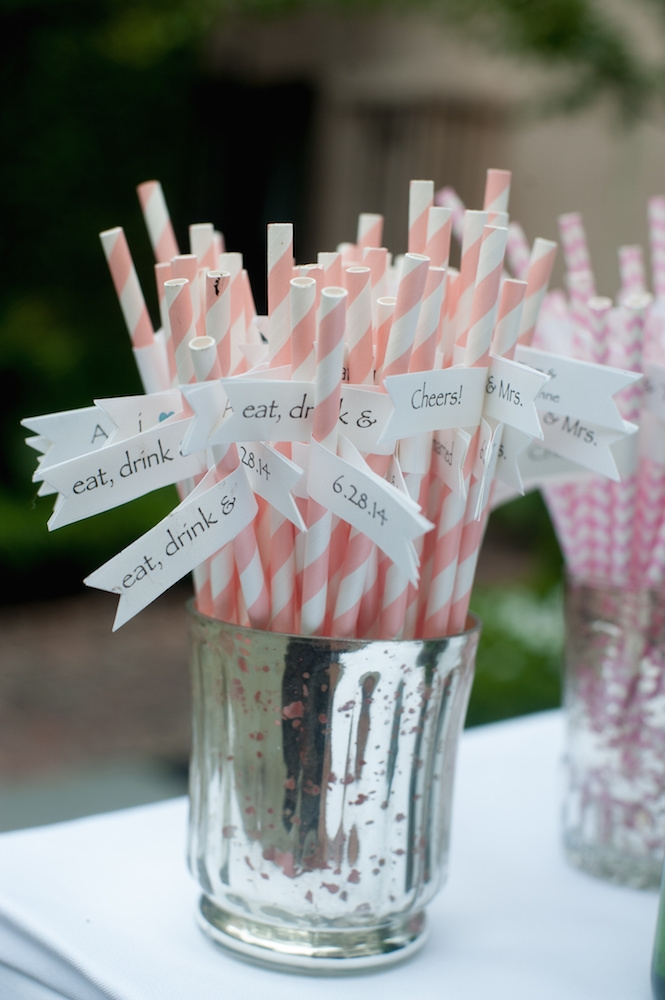 Straws from CherishedBlessings (Etsy). Image by Leigh Webber at Planter's Inn.