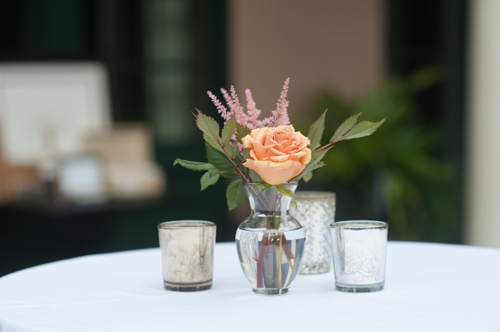 Florals by Country and Lace Florist. Straws from CherishedBlessings (Etsy). Image by Leigh Webber at Planter's Inn.