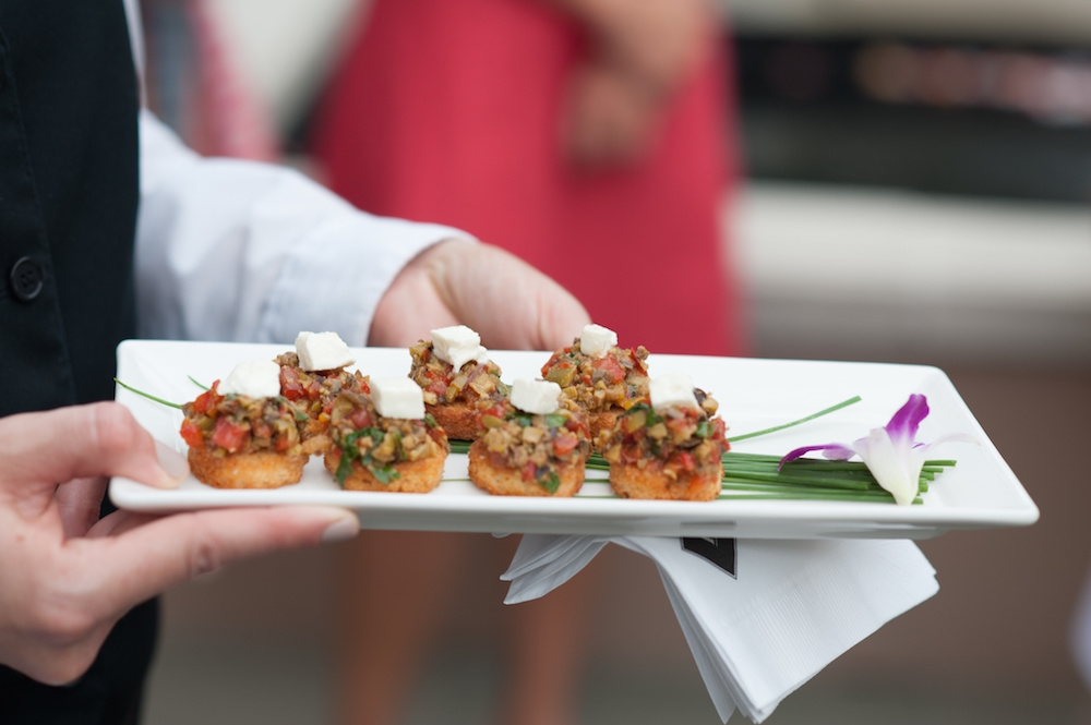 Catering by Peninsula Grill. Image by Leigh Webber at Planter's Inn.