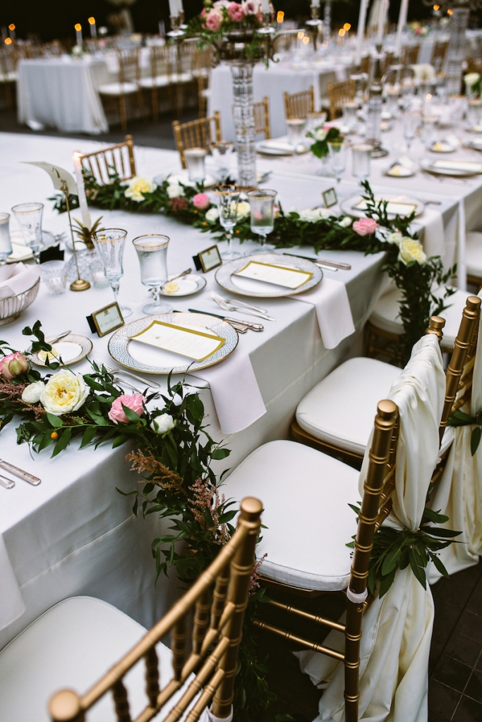 Wedding design by The Event Cooperative. Florals and decor by inventivENVIRONMENTS. Image by Andrew Cebulka Photography.