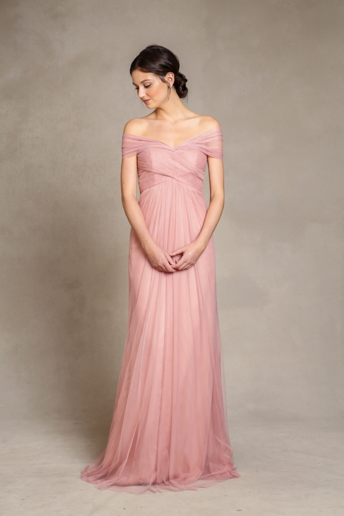 """ROMANTIC: Jenny Yoo's """"Willow,"""" available through Bella  Bridesmaids and Fabulous Frocks"""
