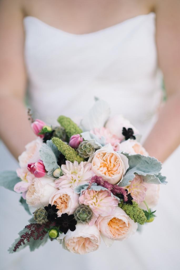 Bouquet by A Charleston Bride. Photograph by Sean Money & Elizabeth Fay.