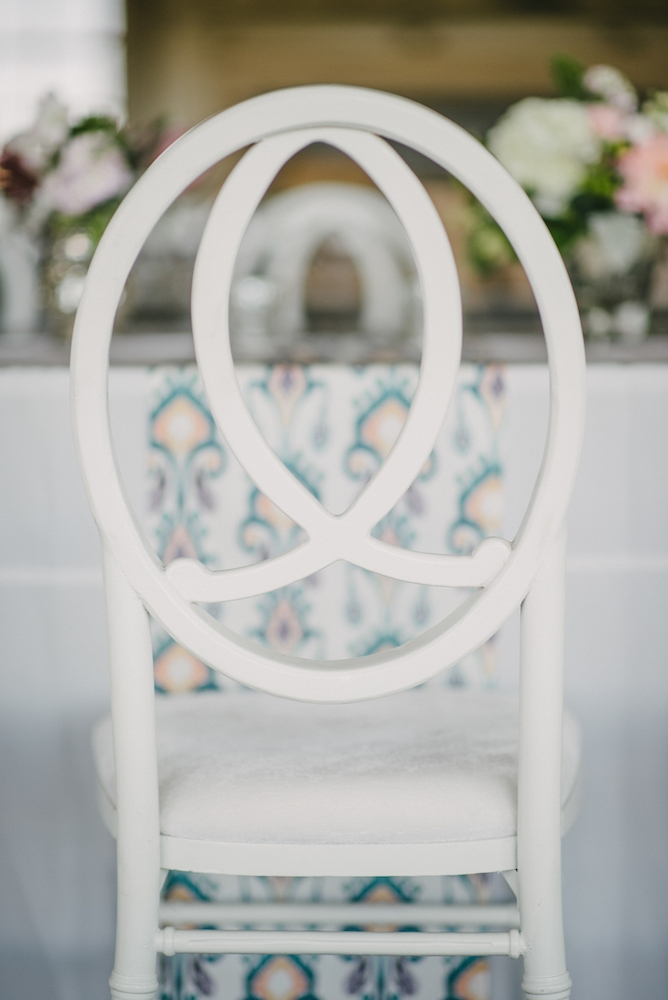Chair from EventHaus. Photograph by Sean Money & Elizabeth Fay at the Ocean Course at Kiawah Island.