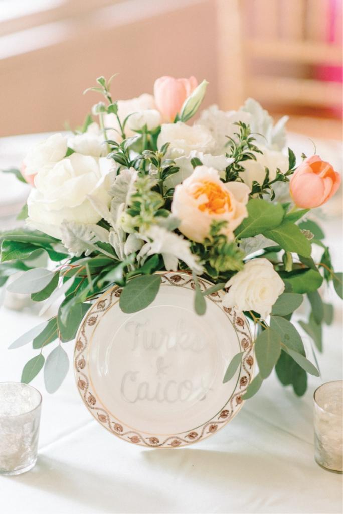 Photograph by Sean Money + Elizabeth Fay. Florals by A Charleston Bride.