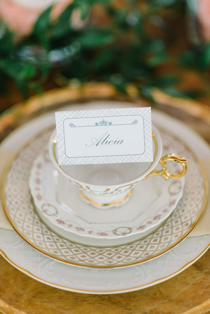 Photograph by Sean Money + Elizabeth Fay. Tableware by Polished!. Signage by Sarah Drake Design.