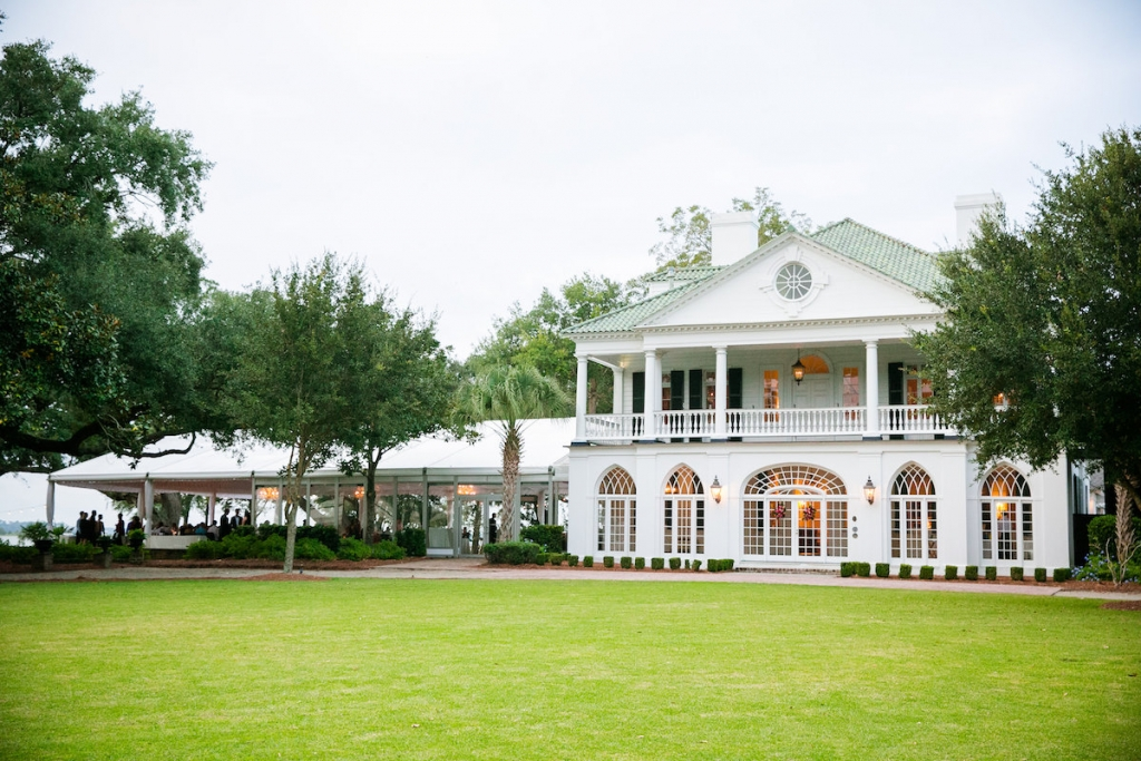 Image by Dana Cubbage Weddings at Lowndes Grove Plantation.