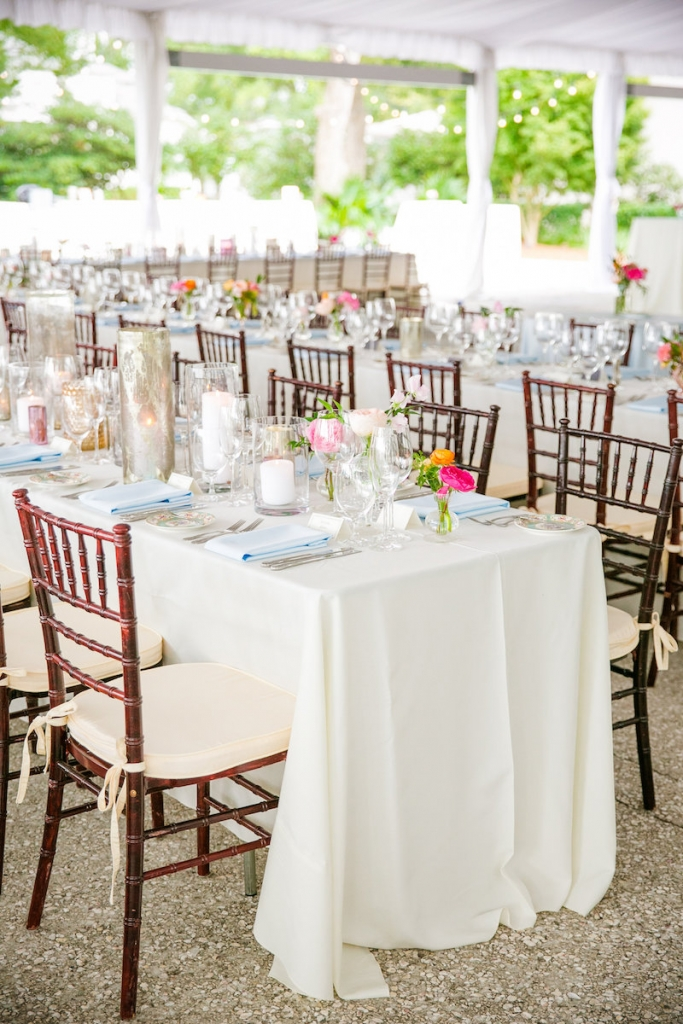 Wedding design by Pure Luxe Bride. Florals by Branch Design Studio. Furniture and linens from EventWorks. Image by Dana Cubbage Weddings at Lowndes Grove Plantation.