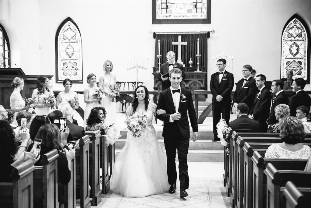 Image by Dana Cubbage Weddings at St. Luke's Chapel.