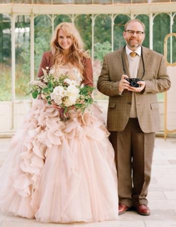 29. Bride Corbin Gurkin. Image in Ireland by Elizabeth Messina.