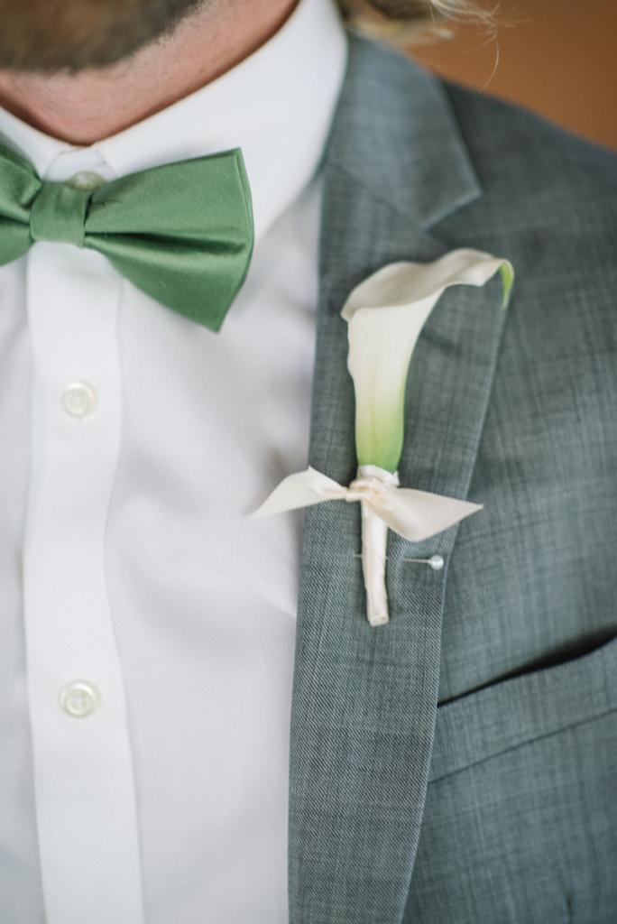 Photograph by Sean Money + Elizabeth Fay. Bowtie by The Tie Bar. Boutonniere by Tiger Lily Weddings.