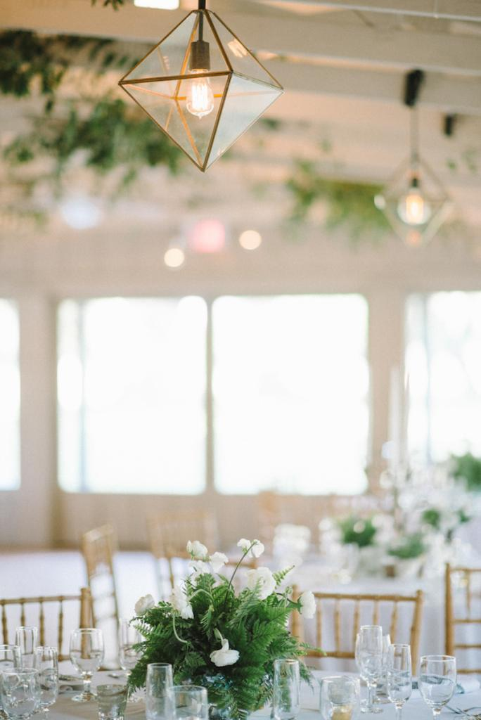 Photograph by Sean Money + Elizabeth Fay. Lighting by Technical Event Company. Florals by Tiger Lily Weddings.