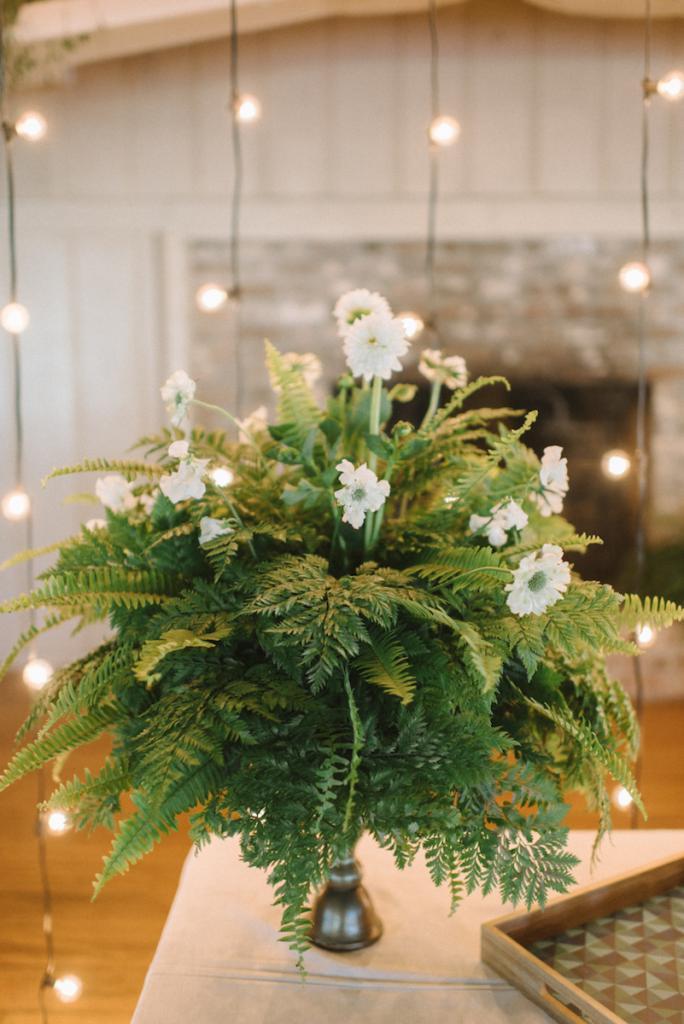 Photograph by Sean Money + Elizabeth Fay. Florals by Tiger Lily Weddings.
