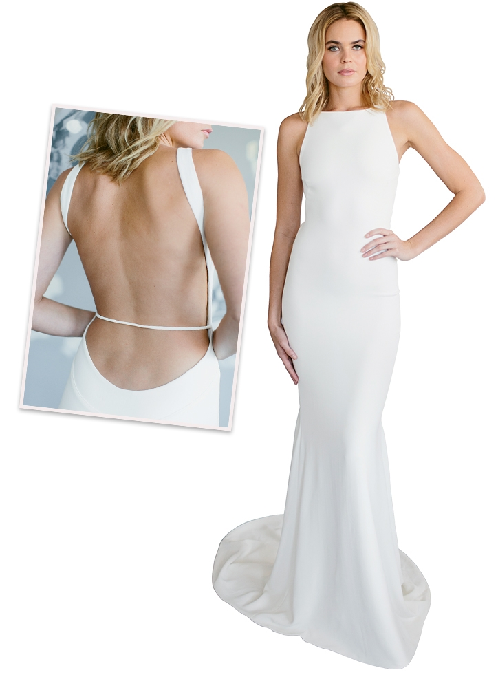 "Bodycon Dresses - Ensemble: ""Ines"" by Kate McDonald Boutiques: Kate McDonald Bridal, Lovely Bride"
