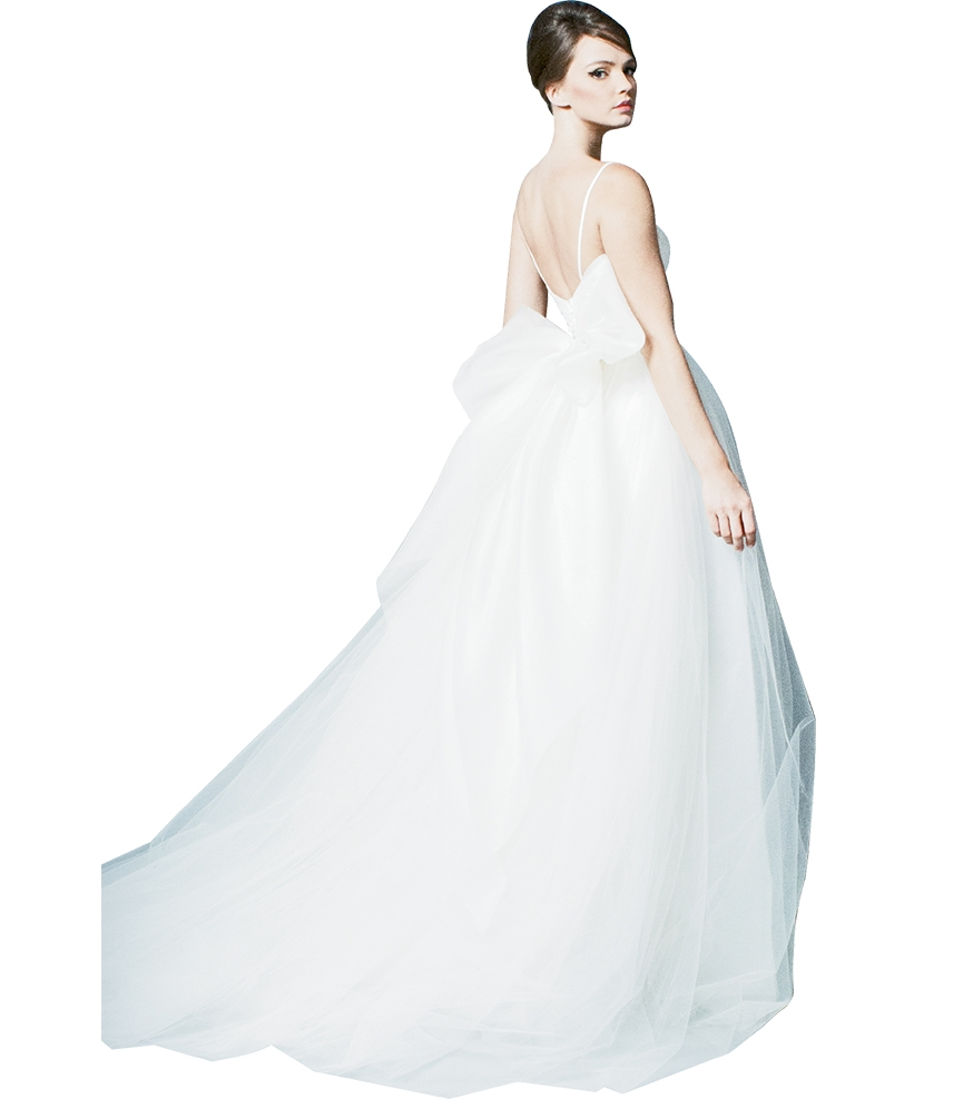 "Big, Beautiful Bows - Gown: ""Be Flirty"" by Romona New York Boutique: Available locally through Southern Protocol Bridal"