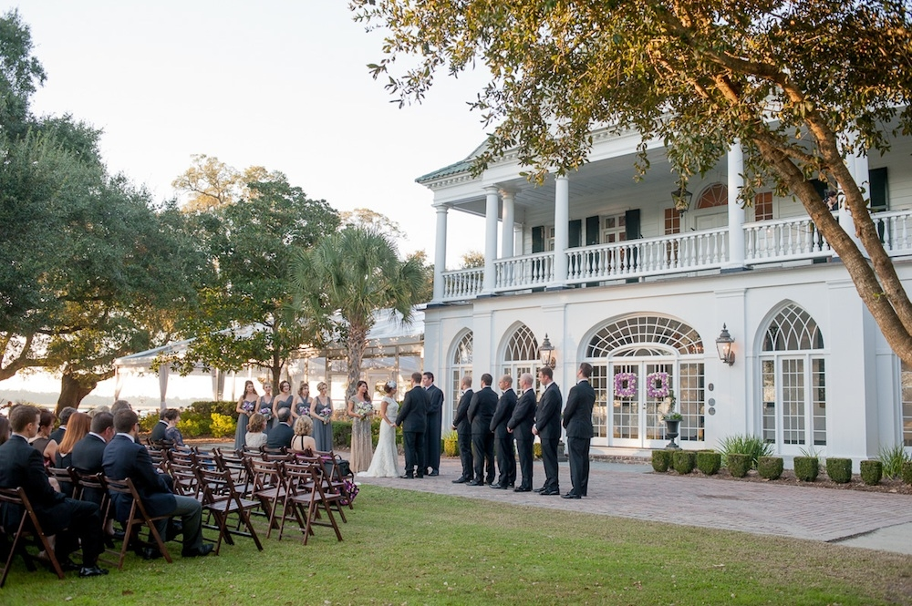 Image by Leigh Webber Photography at Lowndes Grove Plantation.