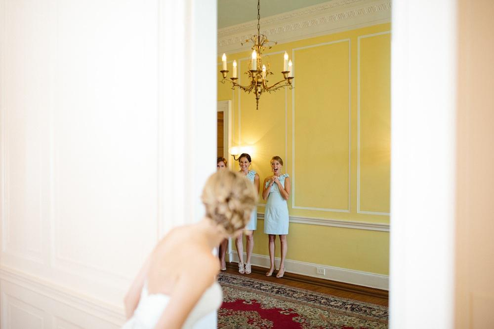Bridesmaid dressses by Lilly Pulitzer. Image by Clay Austin Photography.