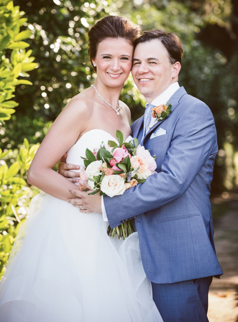 """The most rewarding part was marrying my wife,"" says Jared of the day. ""Her vows were the most memorable moment for me—she has never looked so happy.""   <i>Amelia + Dan Photography</i>"