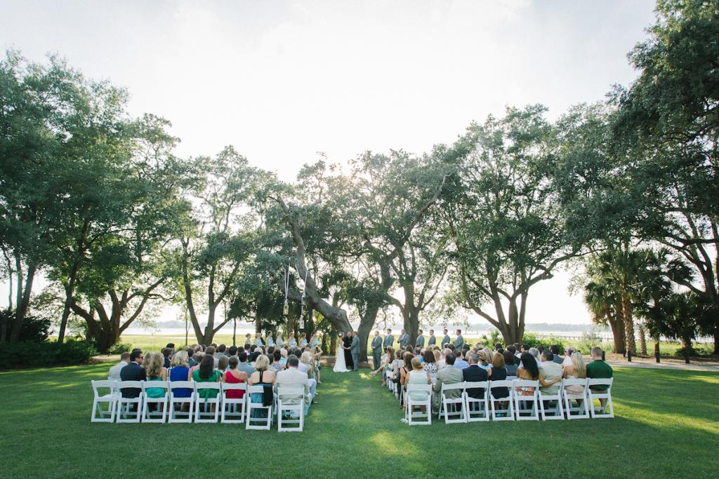 Image by Clay Austin Photography at Lowndes Grove Plantation.